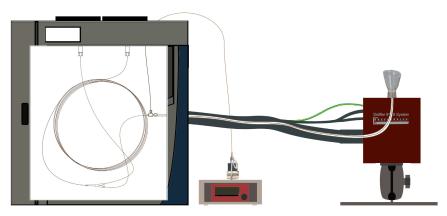 olfactometre pour chromatographie gazeuse - olfactométrie