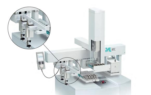 preparation échantillon automatique pour chromatographie et spectrométrie de masse
