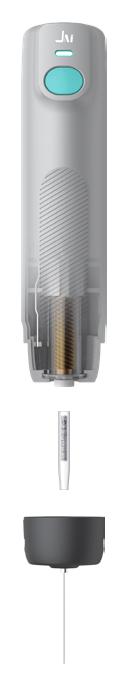 les différents modes du pyrolyseur Jhi-08 hydride
