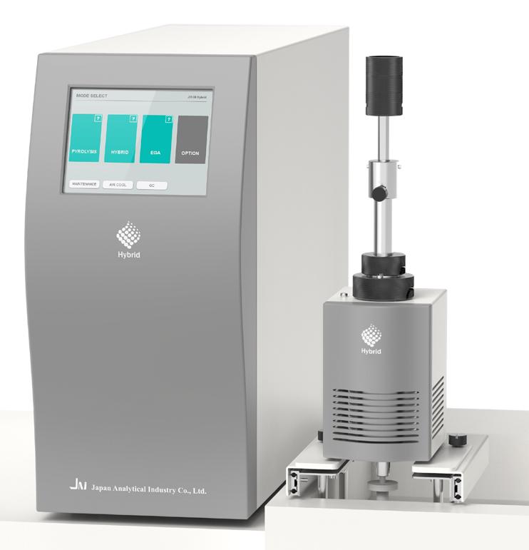 pyrolyseur hybride pour chromatographe en phase gazeuse et spectromètre de masse