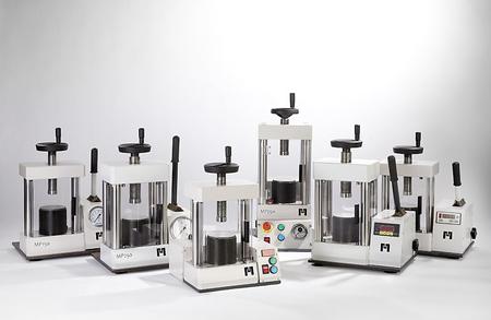 ensemble de presses à pastiller Maassen de 5 tonnes à 25 tonnes