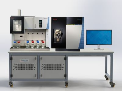 sonation-paillasse-spectrometre thermo LC/MS endura et prelude-235x100